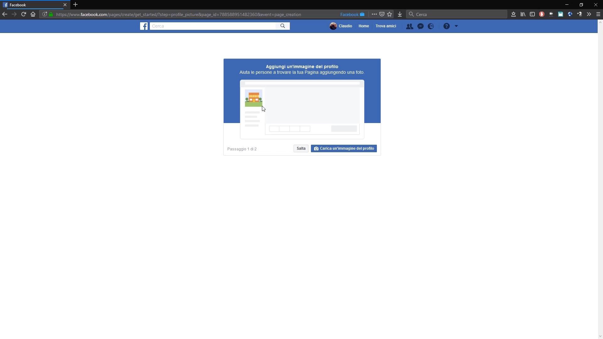 Come creare una pagina Facebook - 003