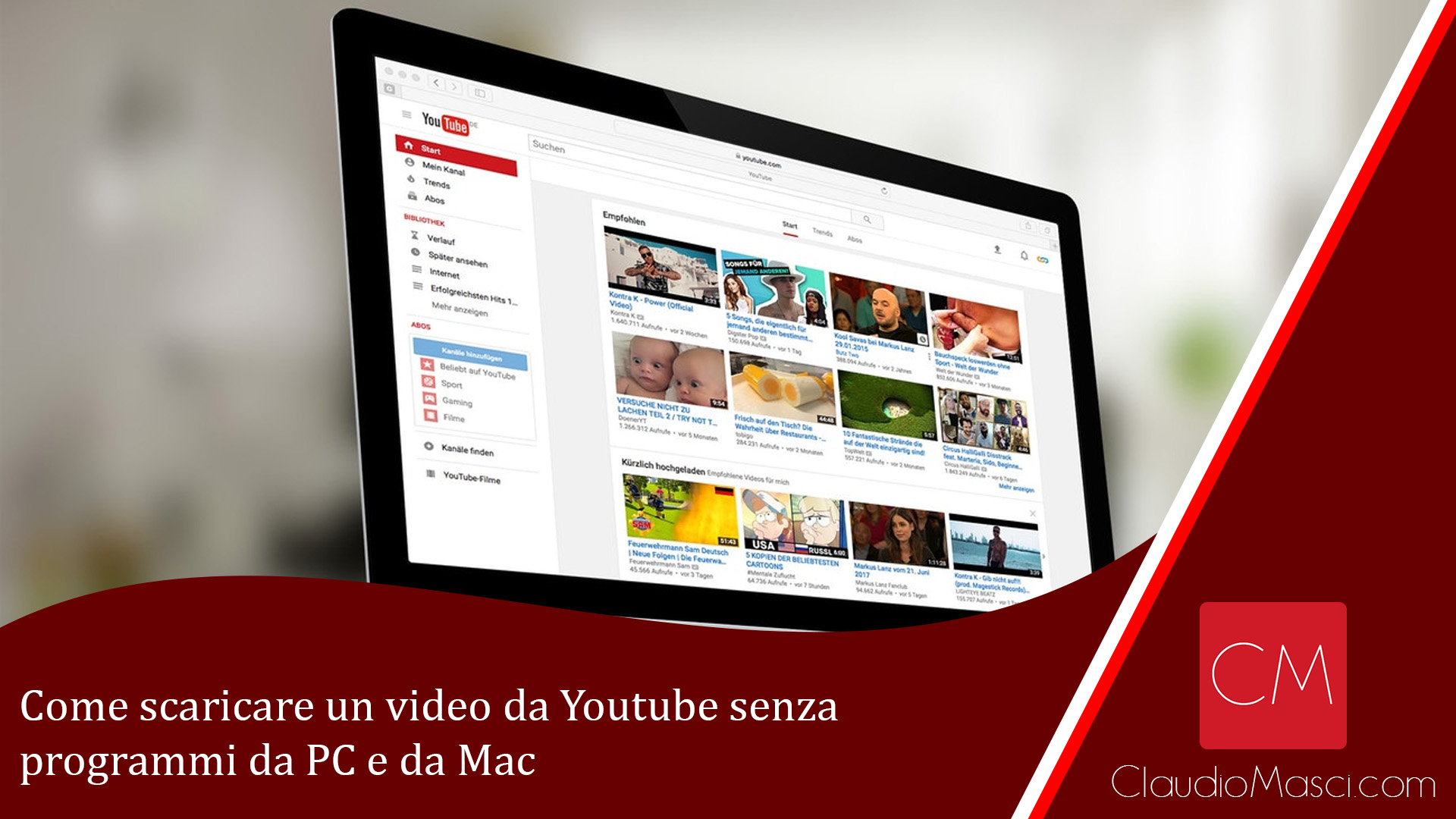 Come scaricare un video da Youtube senza programmi