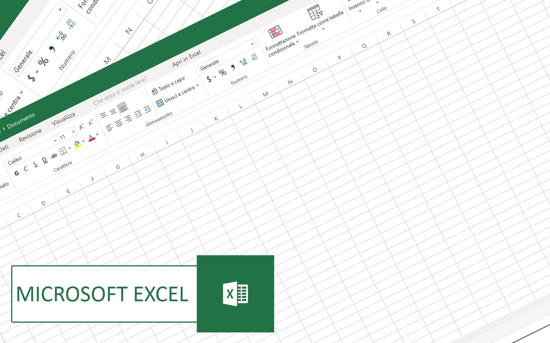 Come usare Microsoft Excel online Gratis senza installare programmi