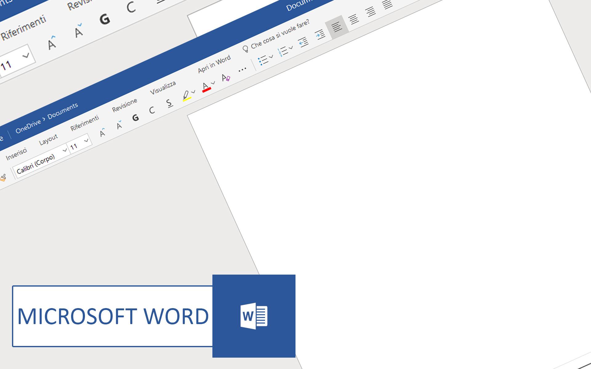 Come usare Microsoft Word online Gratis senza installare programmi