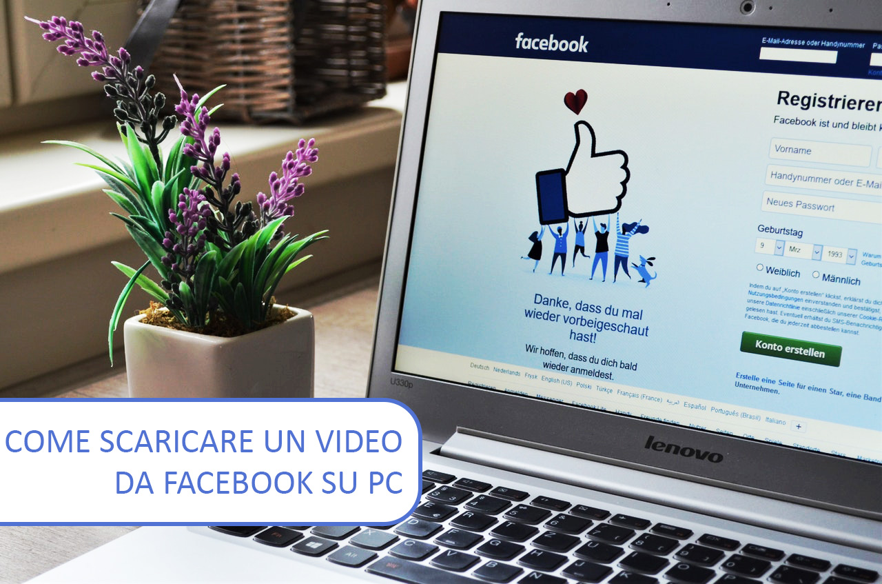 Come scaricare un video da Facebook su PC