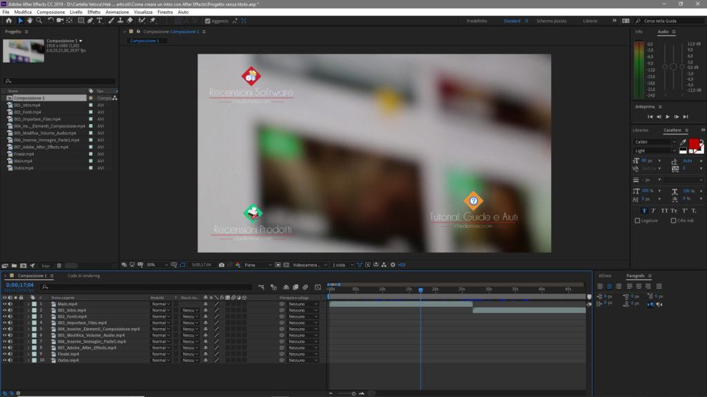 Come creare un intro con Adobe After Effects