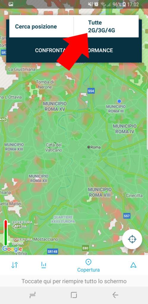 Come sapere quale operatore mobile ha miglior segnale nella propria zona - 002