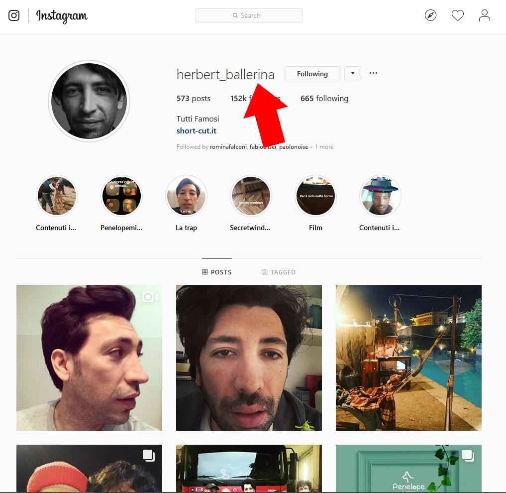 Come scaricare una storia da Instagram da PC - 001