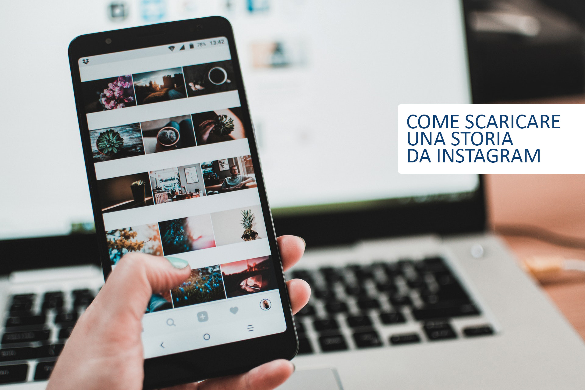 Come scaricare una storia da Instagram