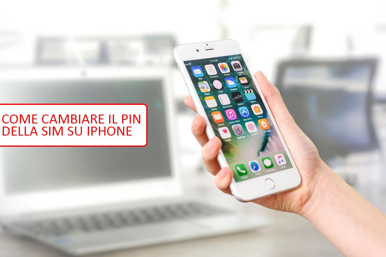 Come cambiare il PIN della SIM Su iPhone