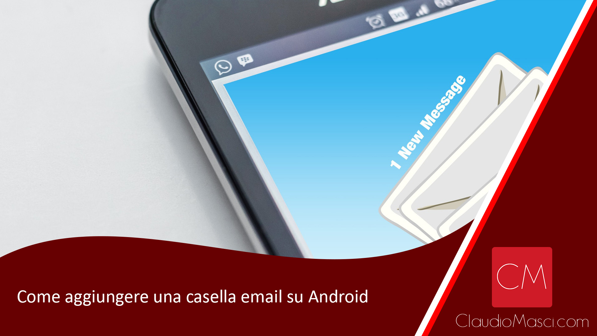 Come aggiungere una casella email su Android
