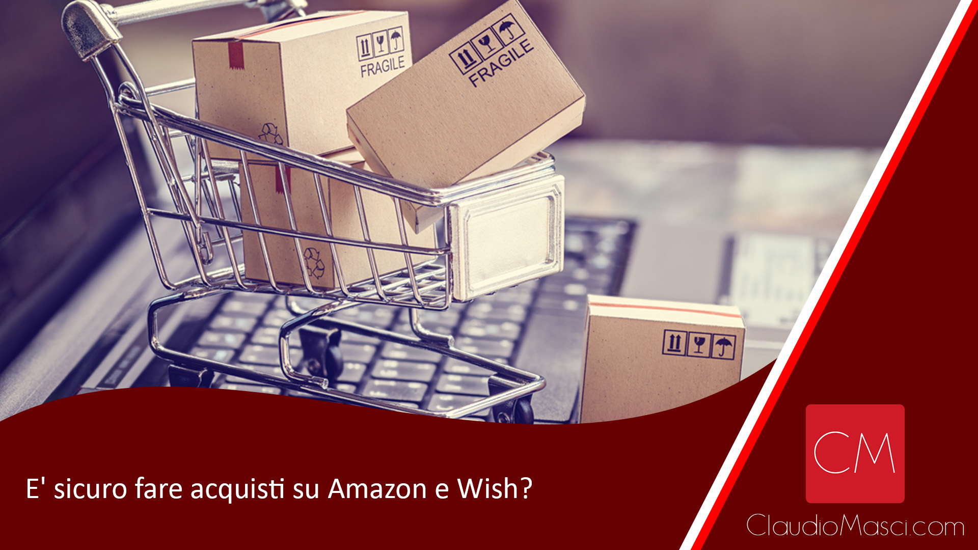 E' sicuro fare acquisti su Amazon e Wish?