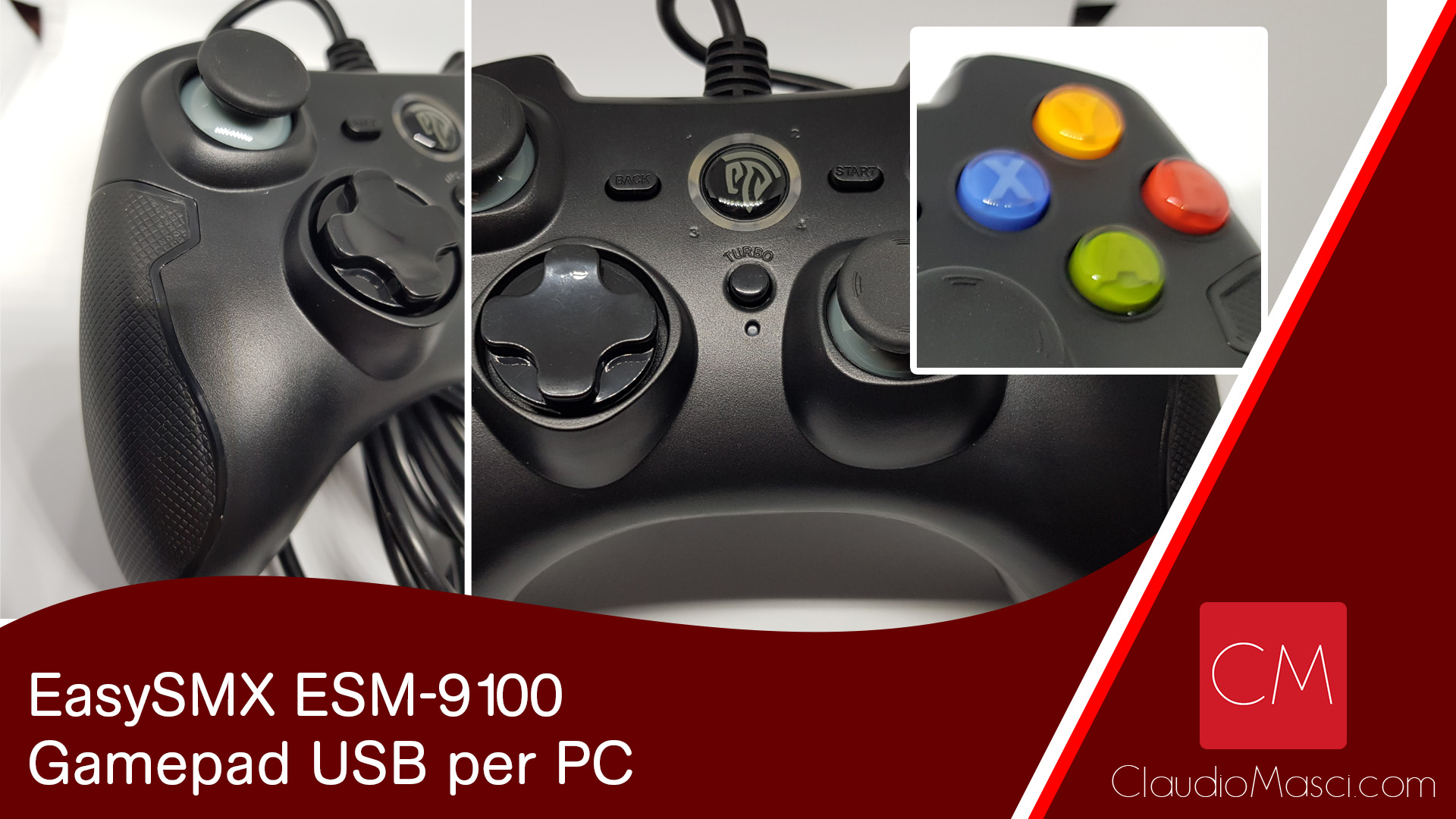 EasySMX ESM-9100 – Gamepad USB per PC
