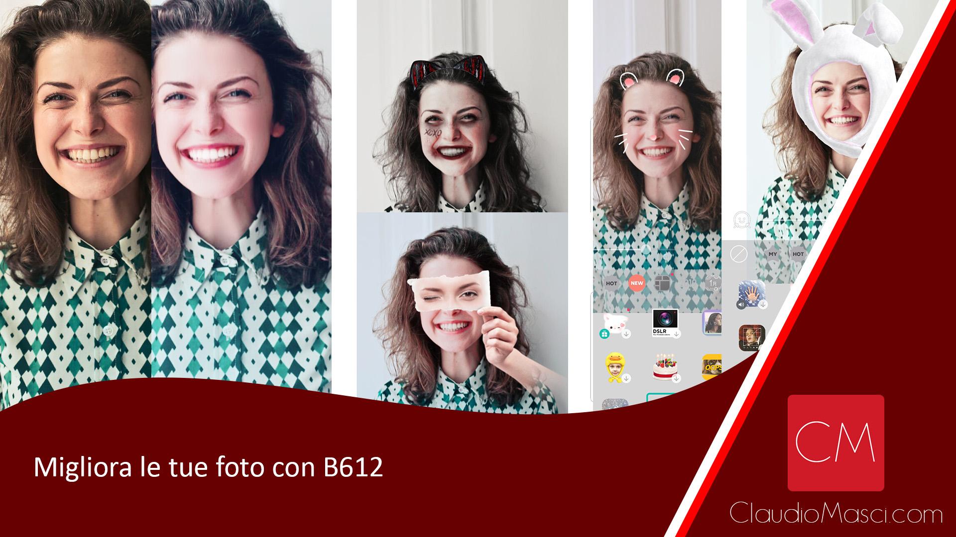 Migliora le tue foto con B612