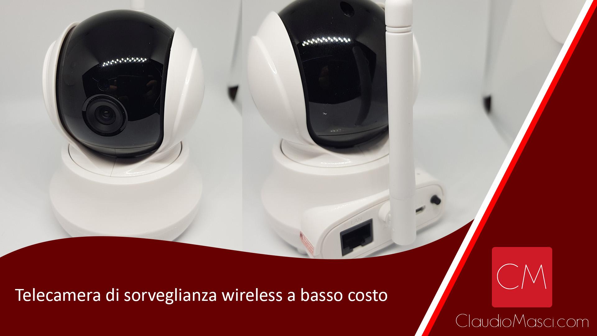 Telecamera di sorveglianza wireless a basso costo