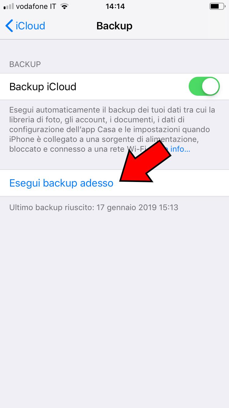 Come fare il backup su iPhone_004