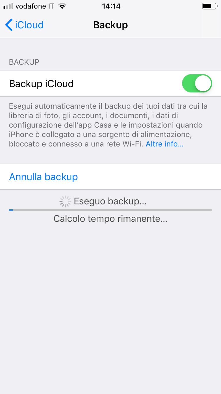 Come fare il backup su iPhone_005