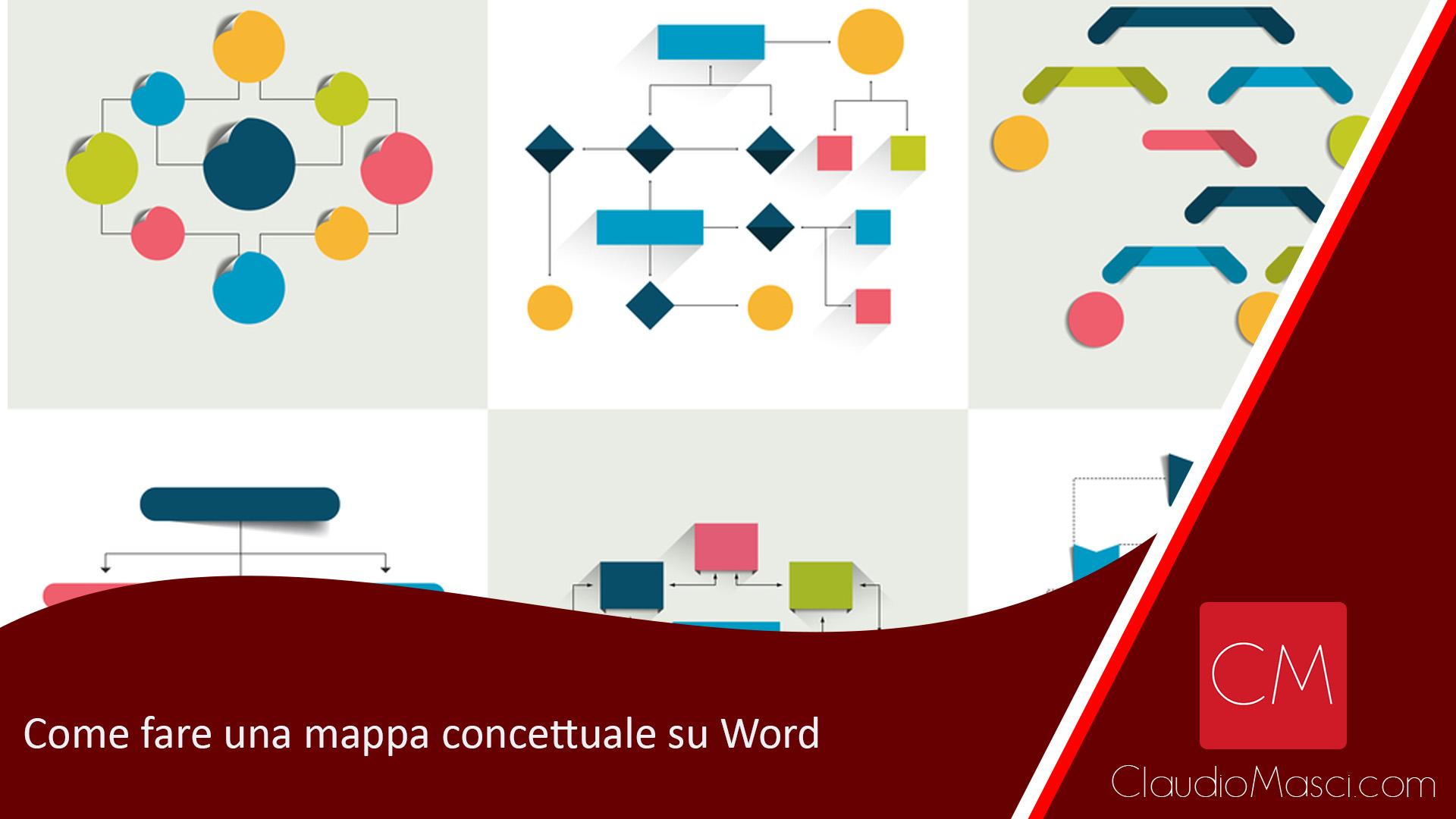Come fare una mappa concettuale su Word