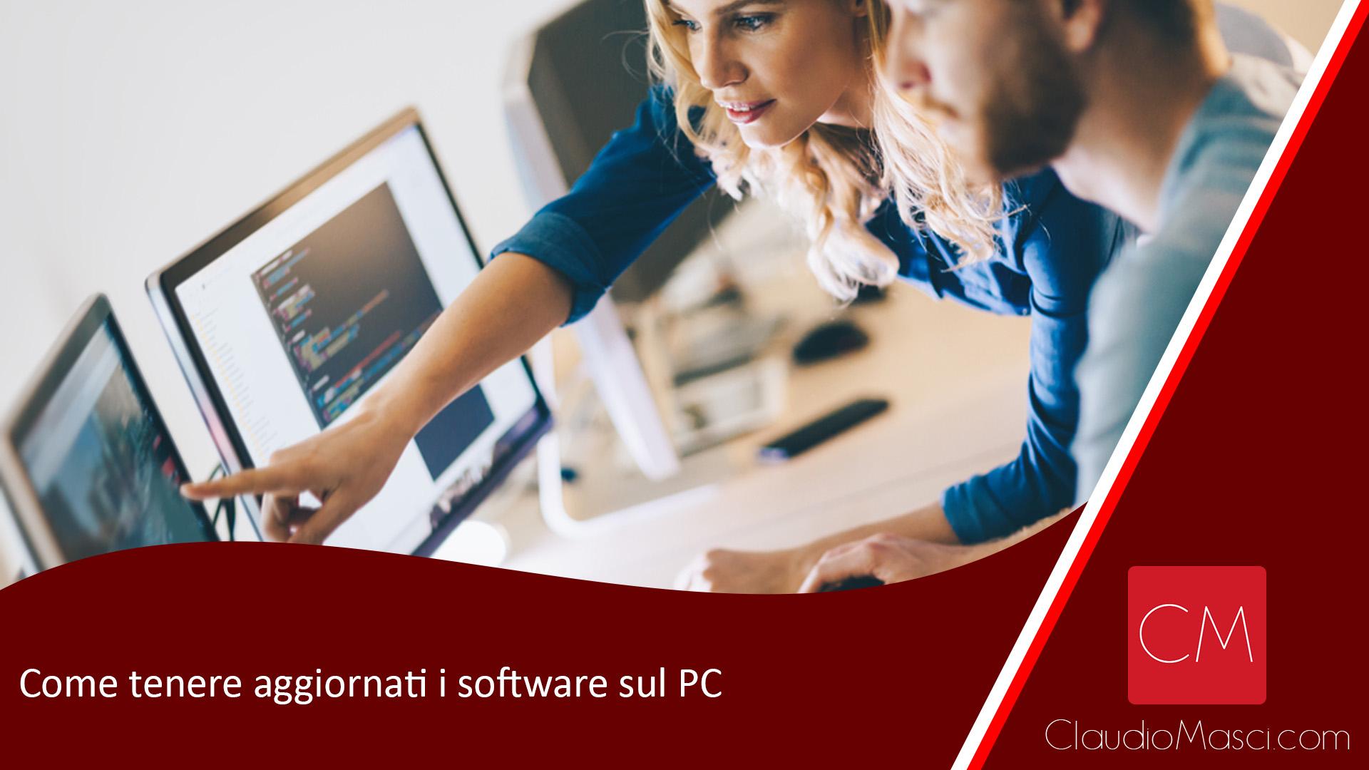 Come tenere aggiornati i software sul PC