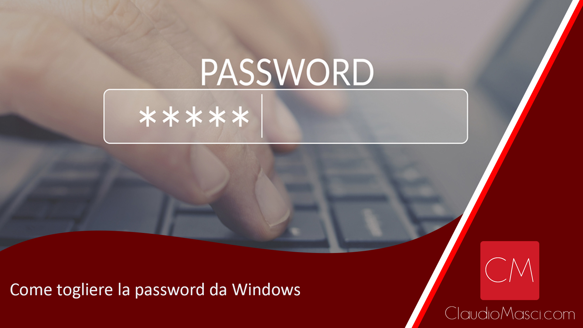 Come togliere la password da Windows