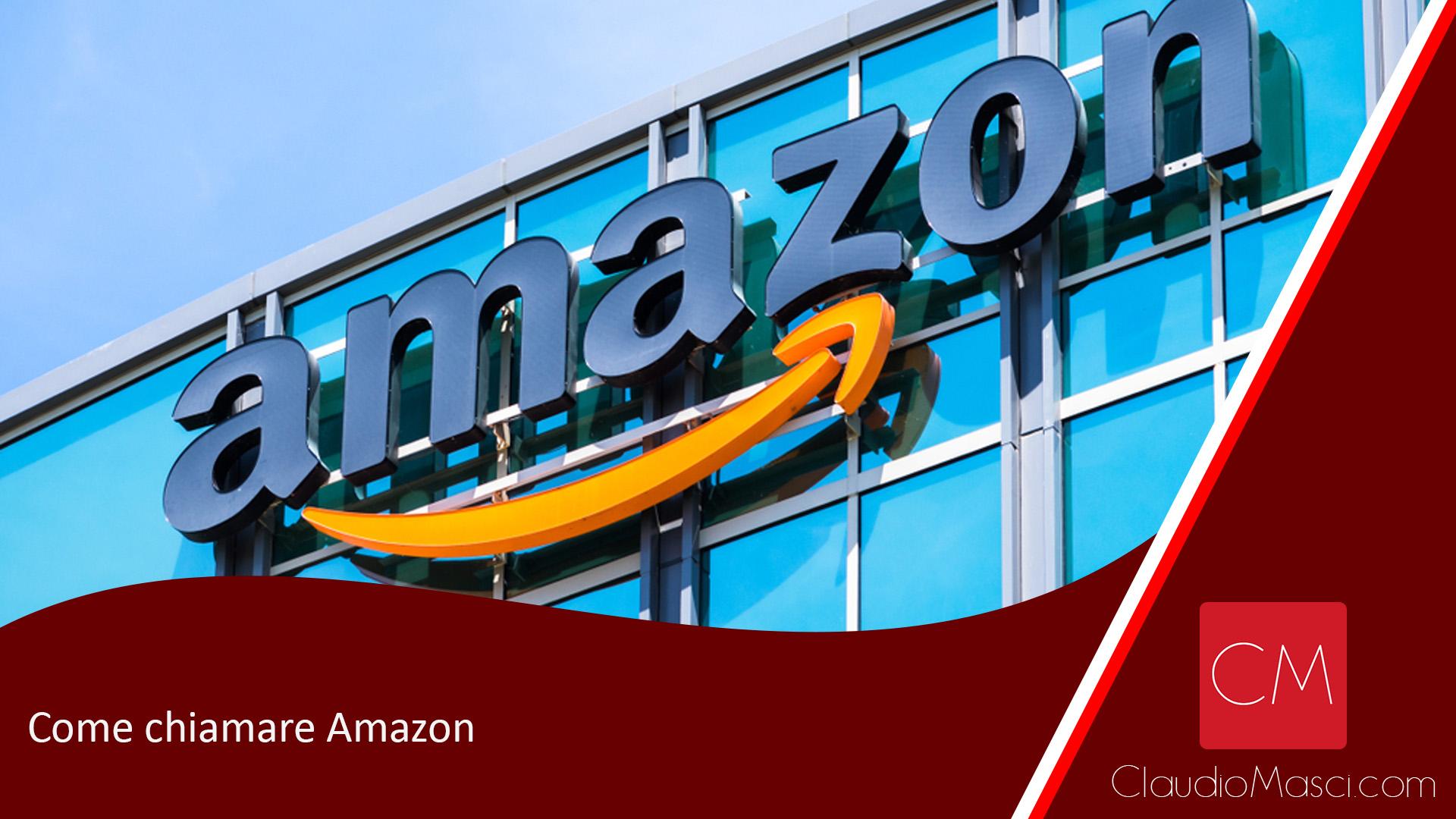 Come chiamare Amazon