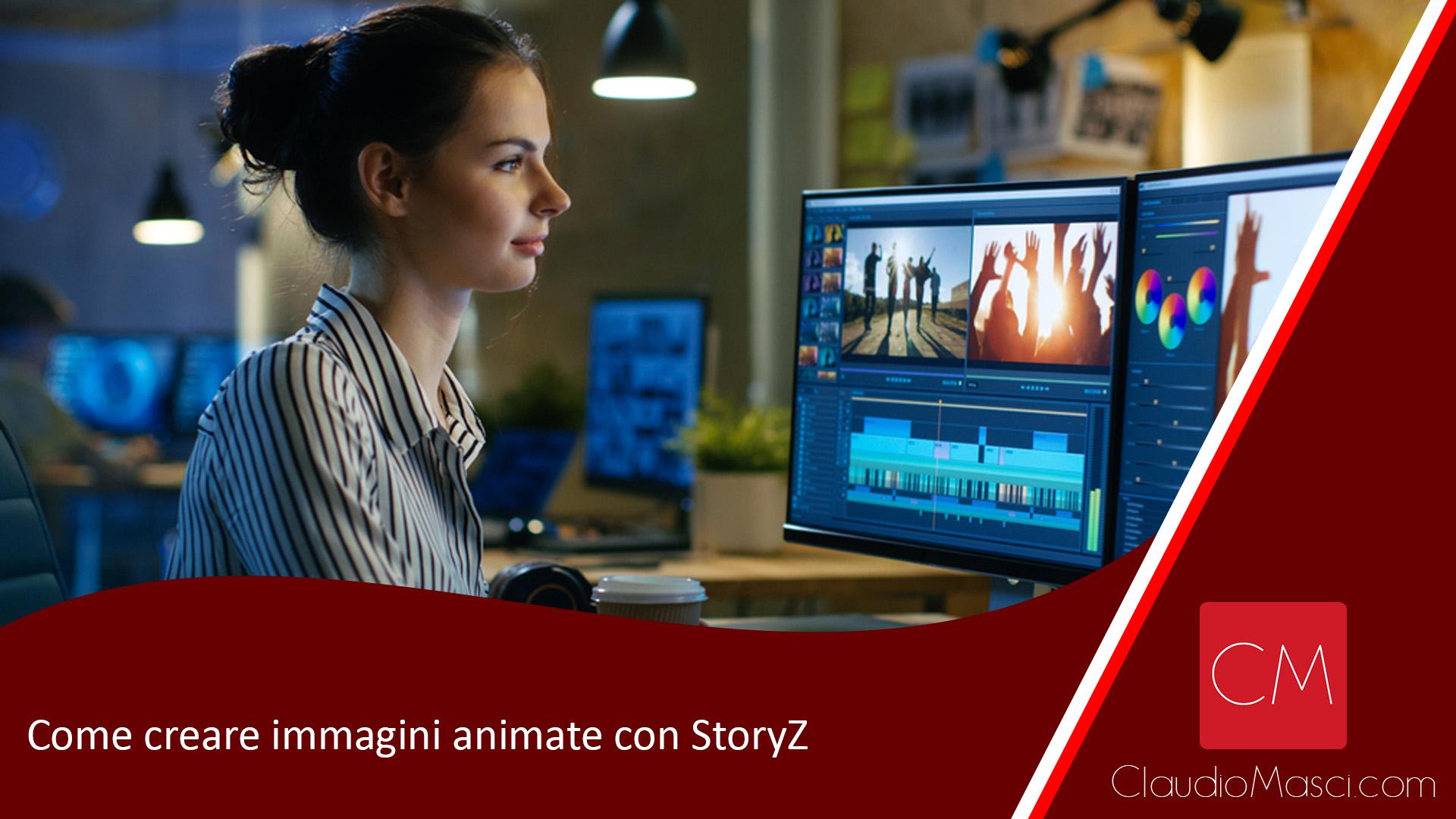 Come creare immagini animate con StoryZ