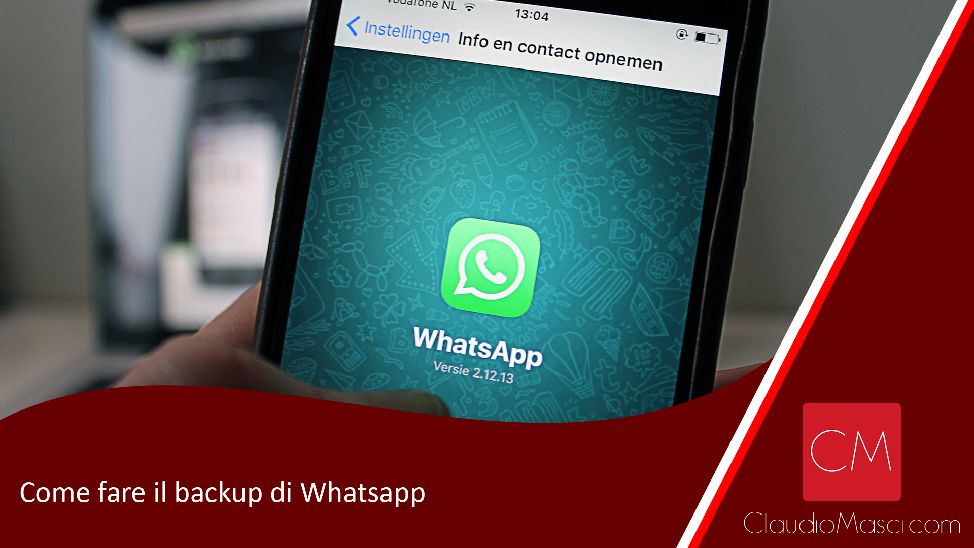 Come fare il backup di Whatsapp