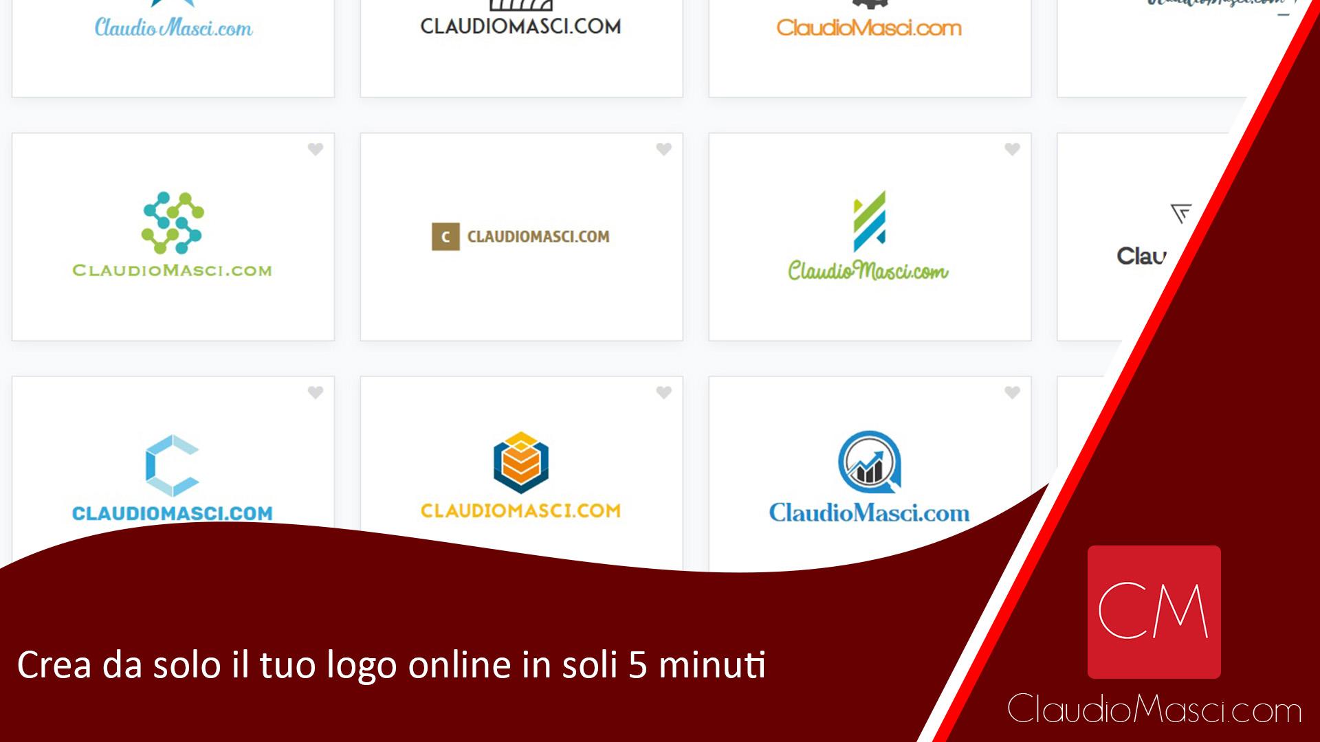 Crea da solo il tuo logo online in soli 5 minuti