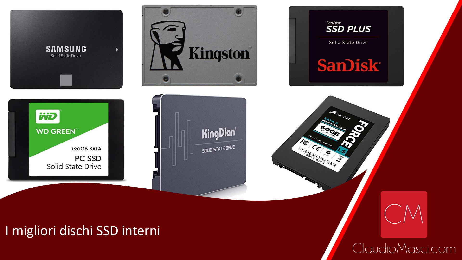 I migliori dischi SSD interni