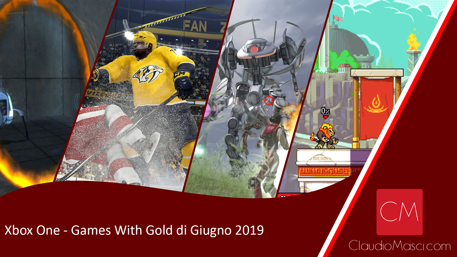 Xbox One – Games With Gold di Giugno 2019