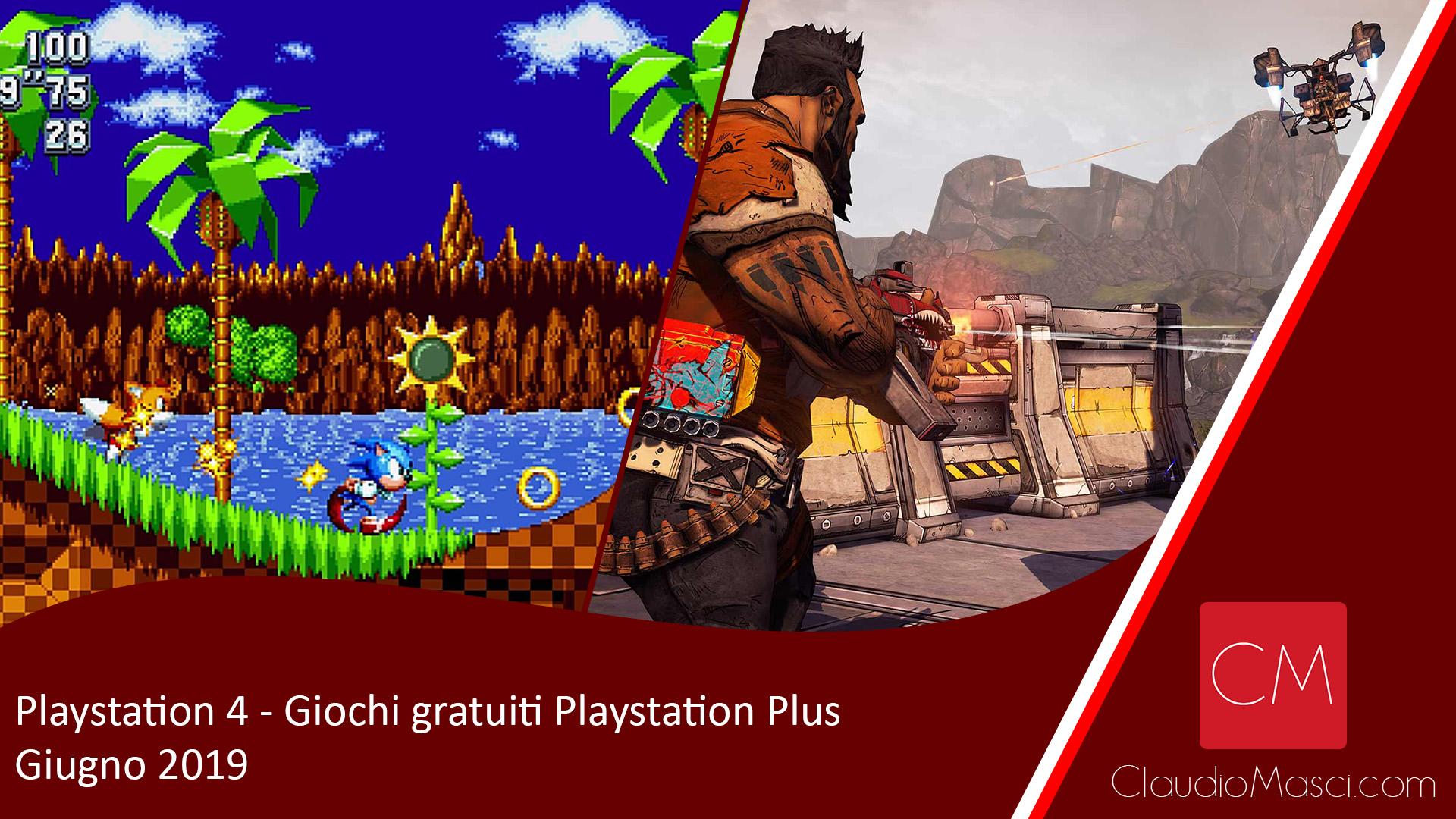 Playstation Plus – I giochi gratuiti di Giugno 2019