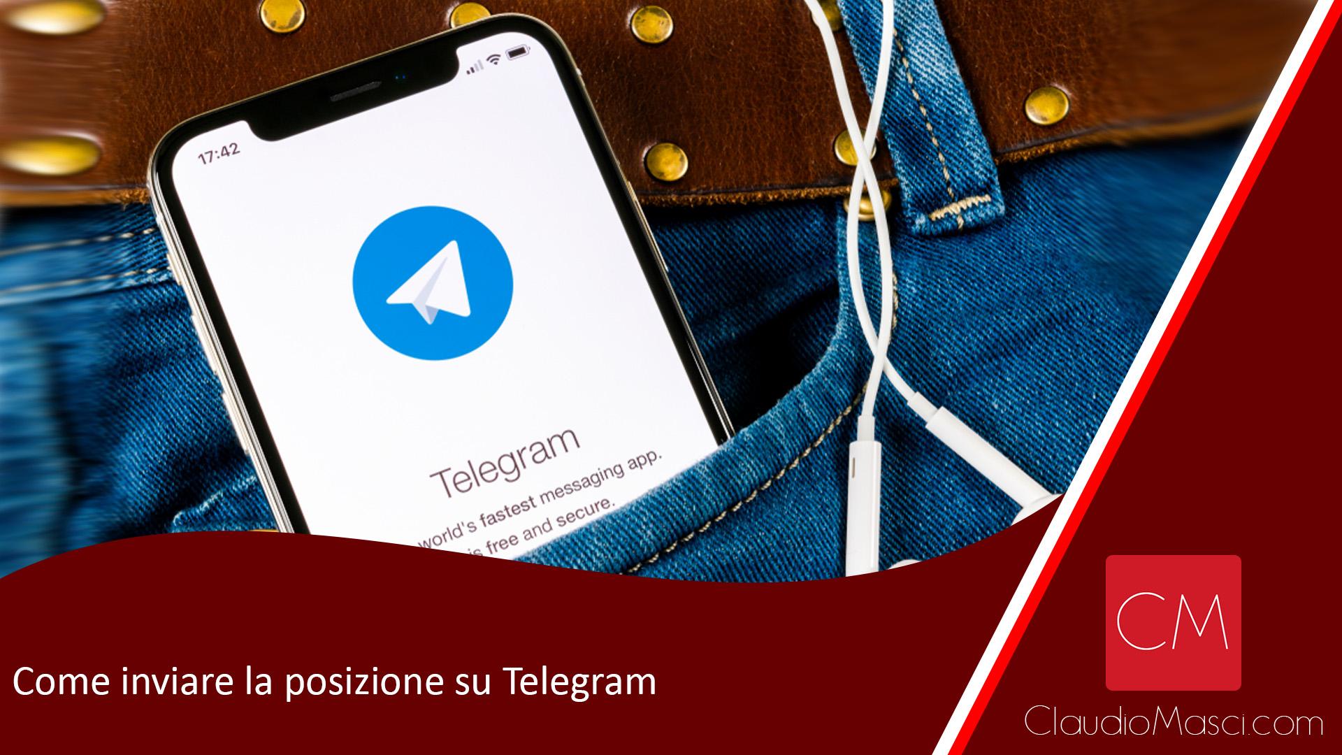 Come inviare la posizione su Telegram