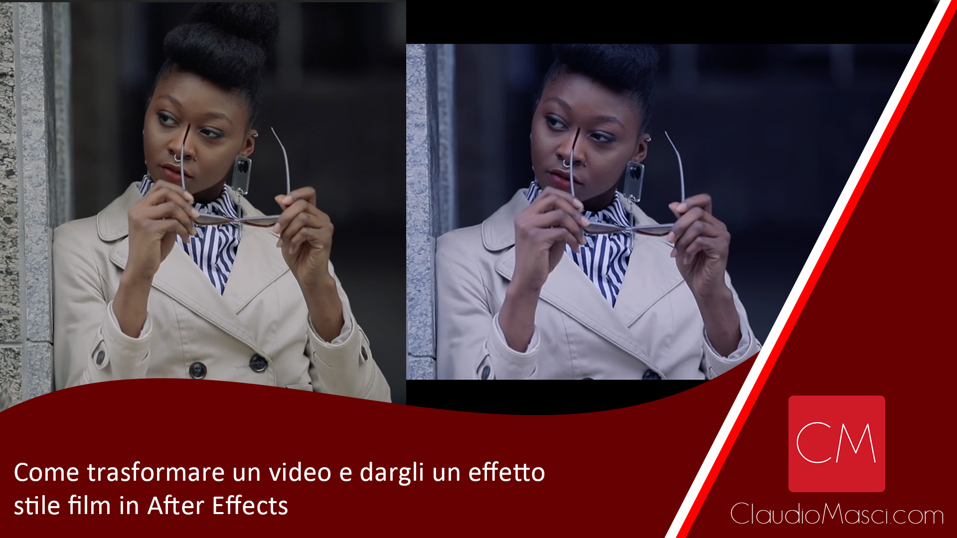 Come trasformare un video e dargli un effetto stile film in After Effects