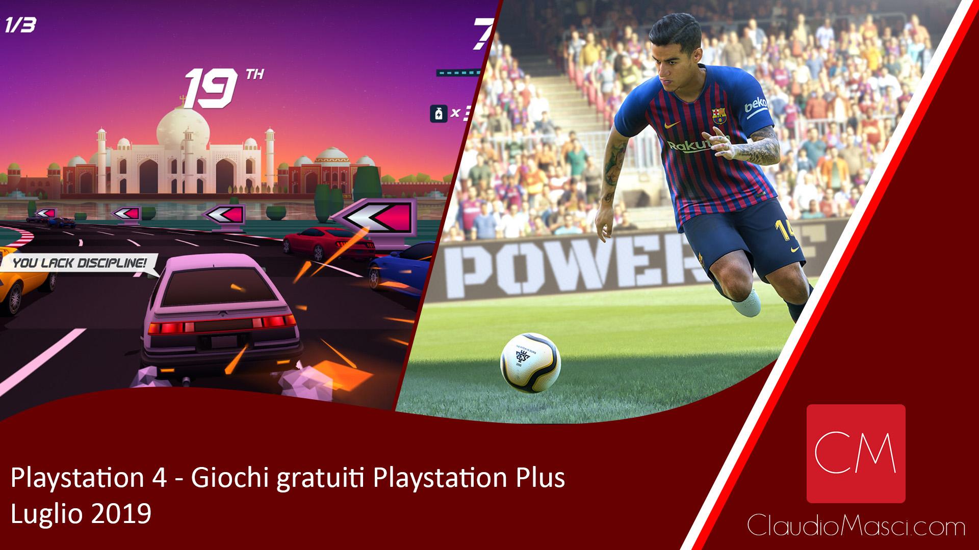 Playstation Plus – I Giochi gratuiti di Luglio 2019