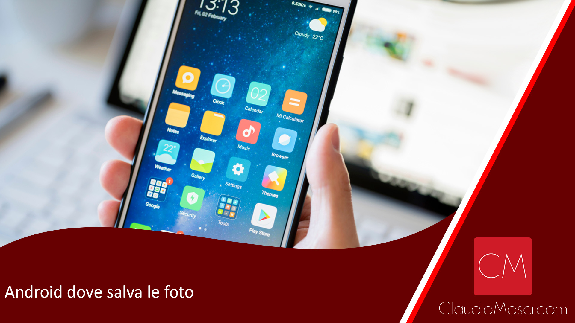 Android dove salva le foto