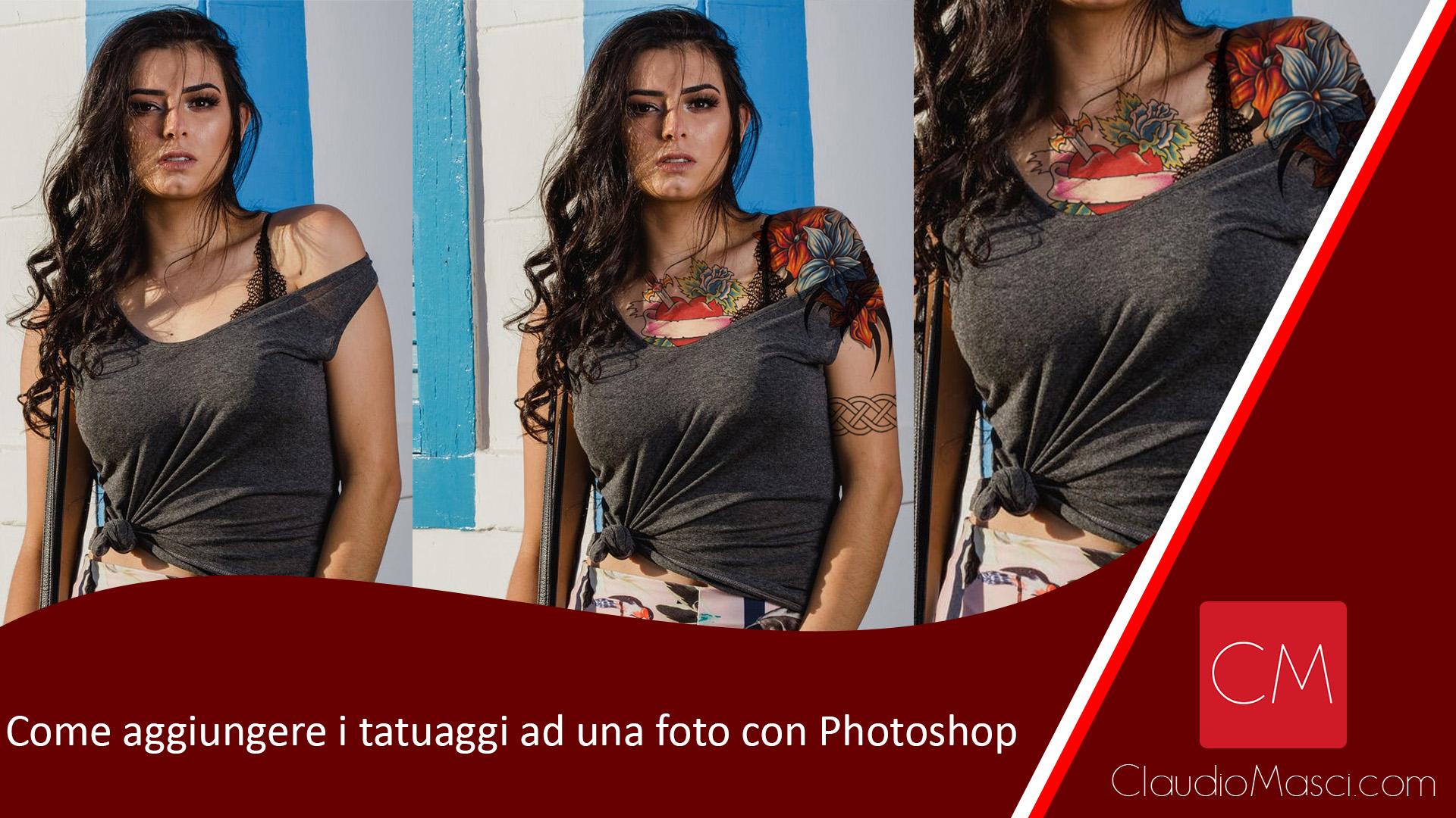 Come aggiungere i tatuaggi ad una foto con Photoshop