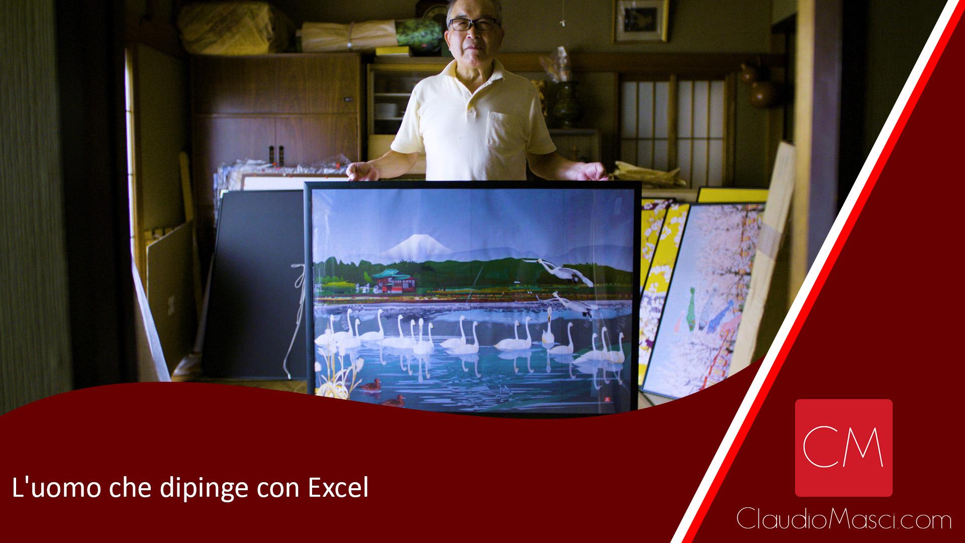 L'uomo che dipinge con Excel