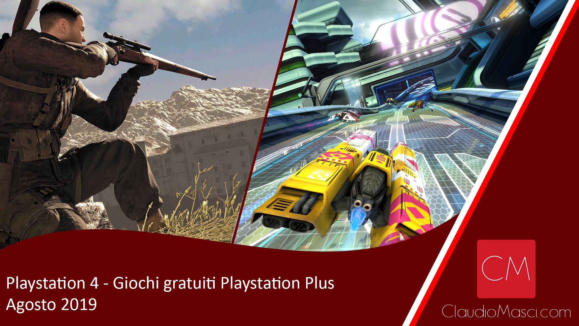 Playstation Plus – Agosto 2019