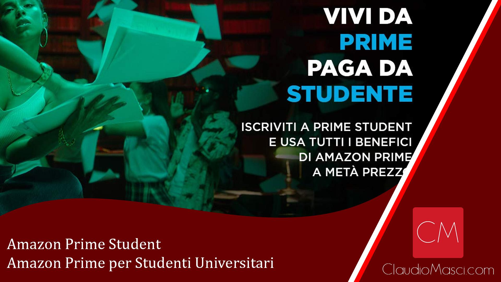 Amazon Prime Student – Amazon Prime per Studenti Universitari
