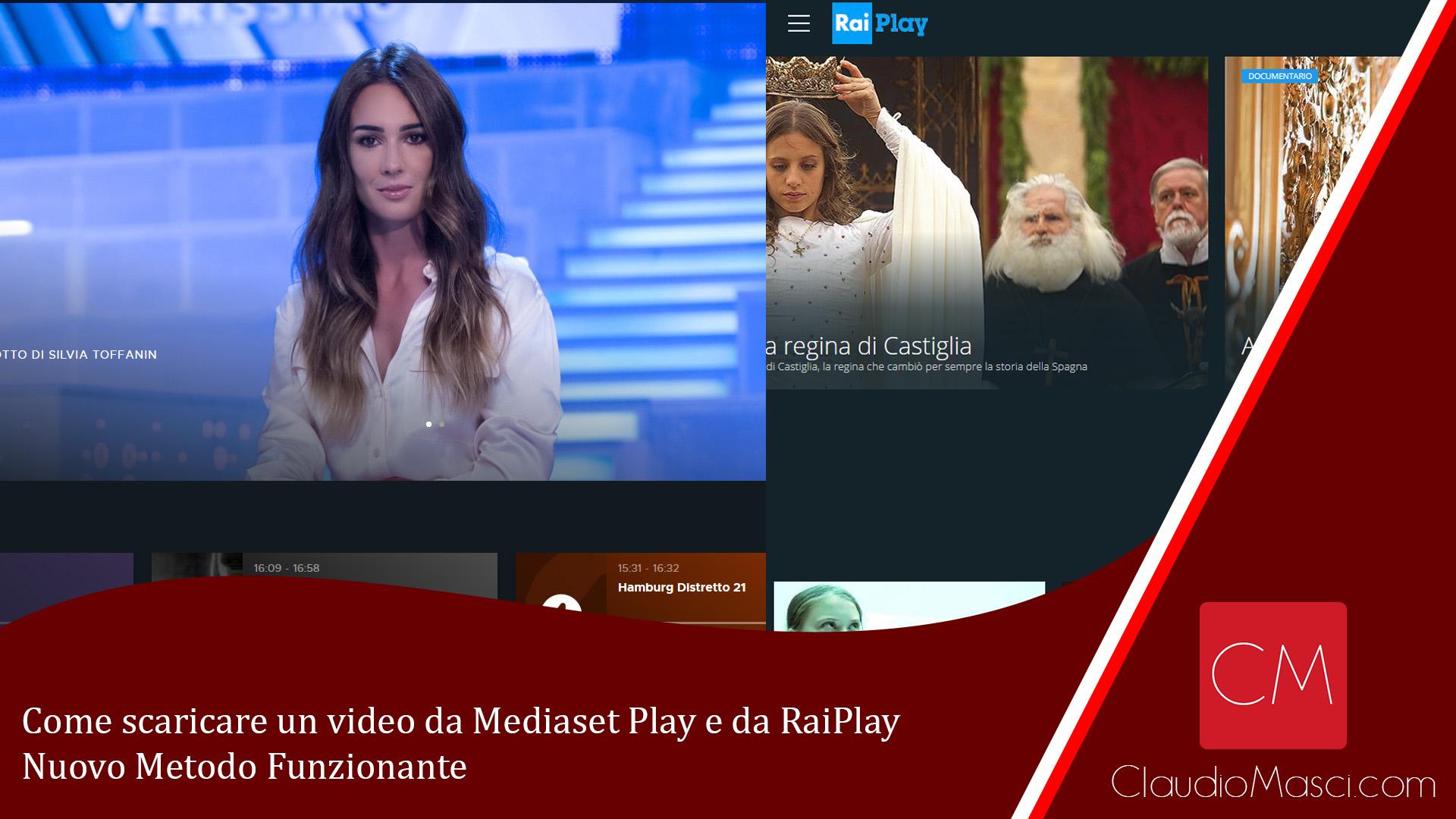 Come scaricare un video da Mediaset Play e da RaiPlay – Nuovo Metodo Funzionante