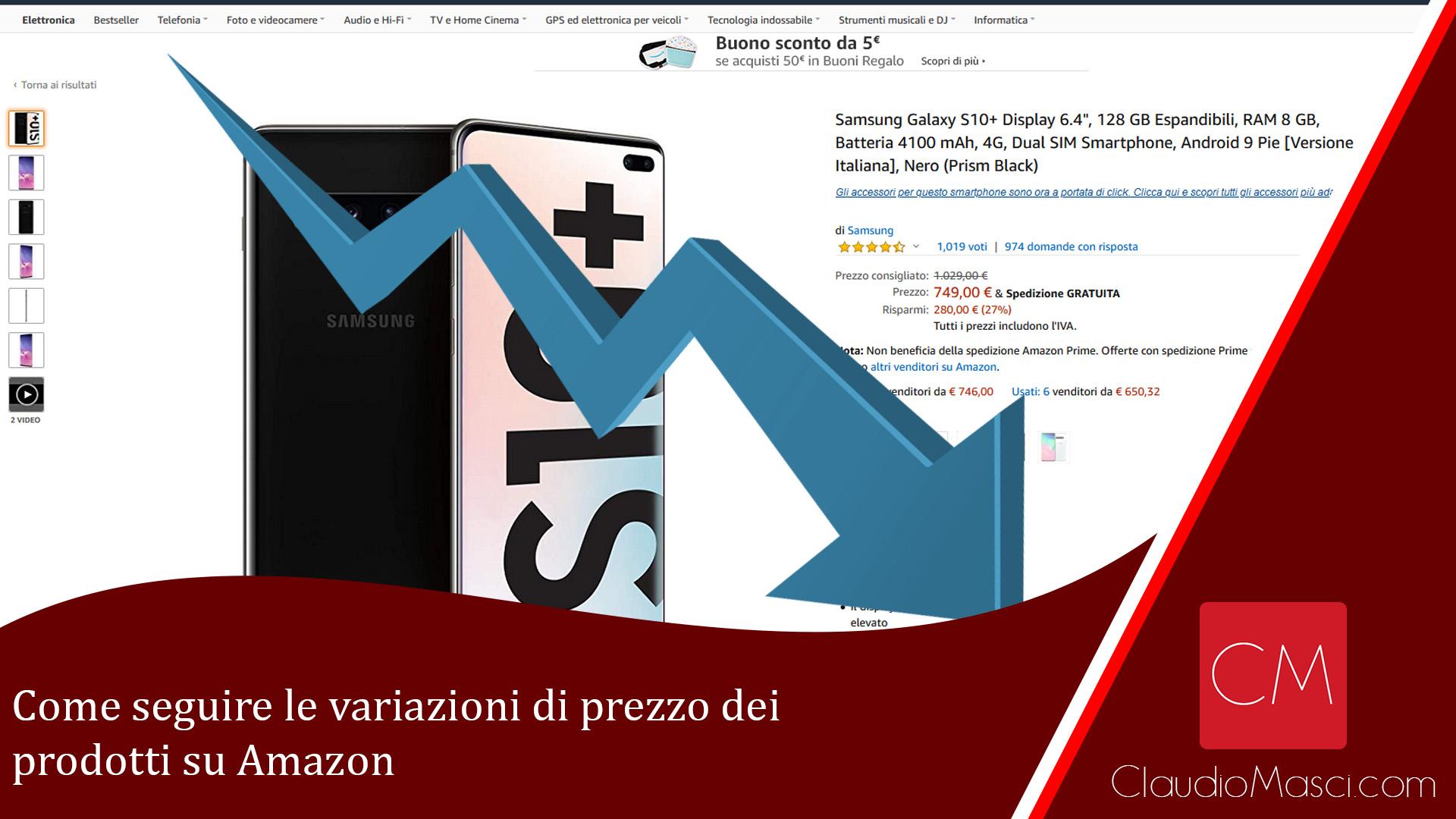 Come seguire le variazioni di prezzo dei prodotti su Amazon