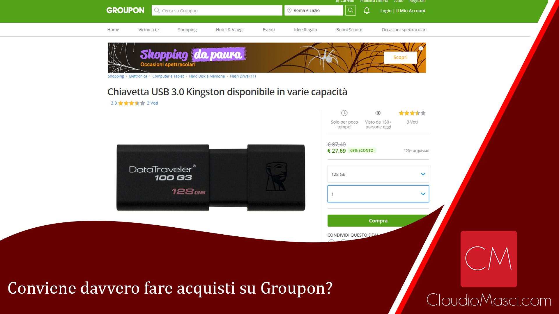 Conviene davvero fare acquisti su Groupon?