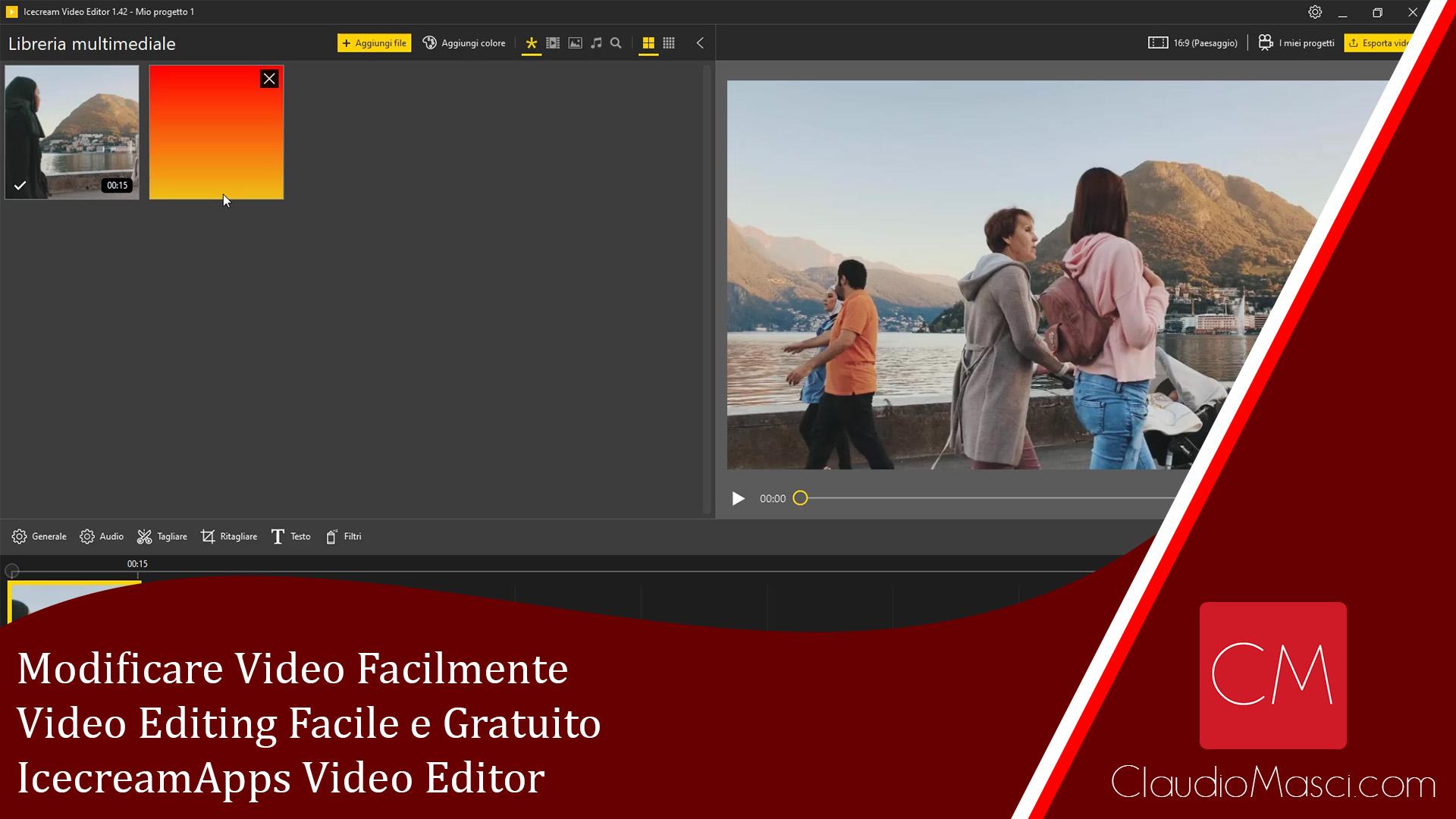 Modificare Video Facilmente – Video Editing Facile e Gratuito – IcecreamApps Video Editor