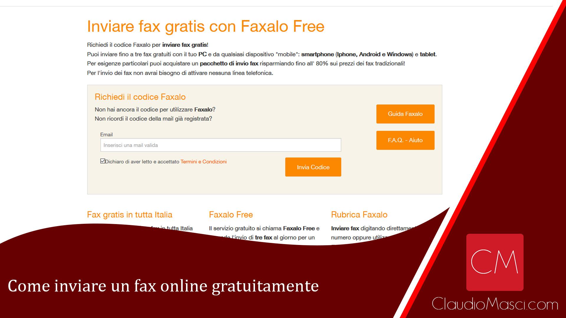 Come inviare un fax online gratuitamente