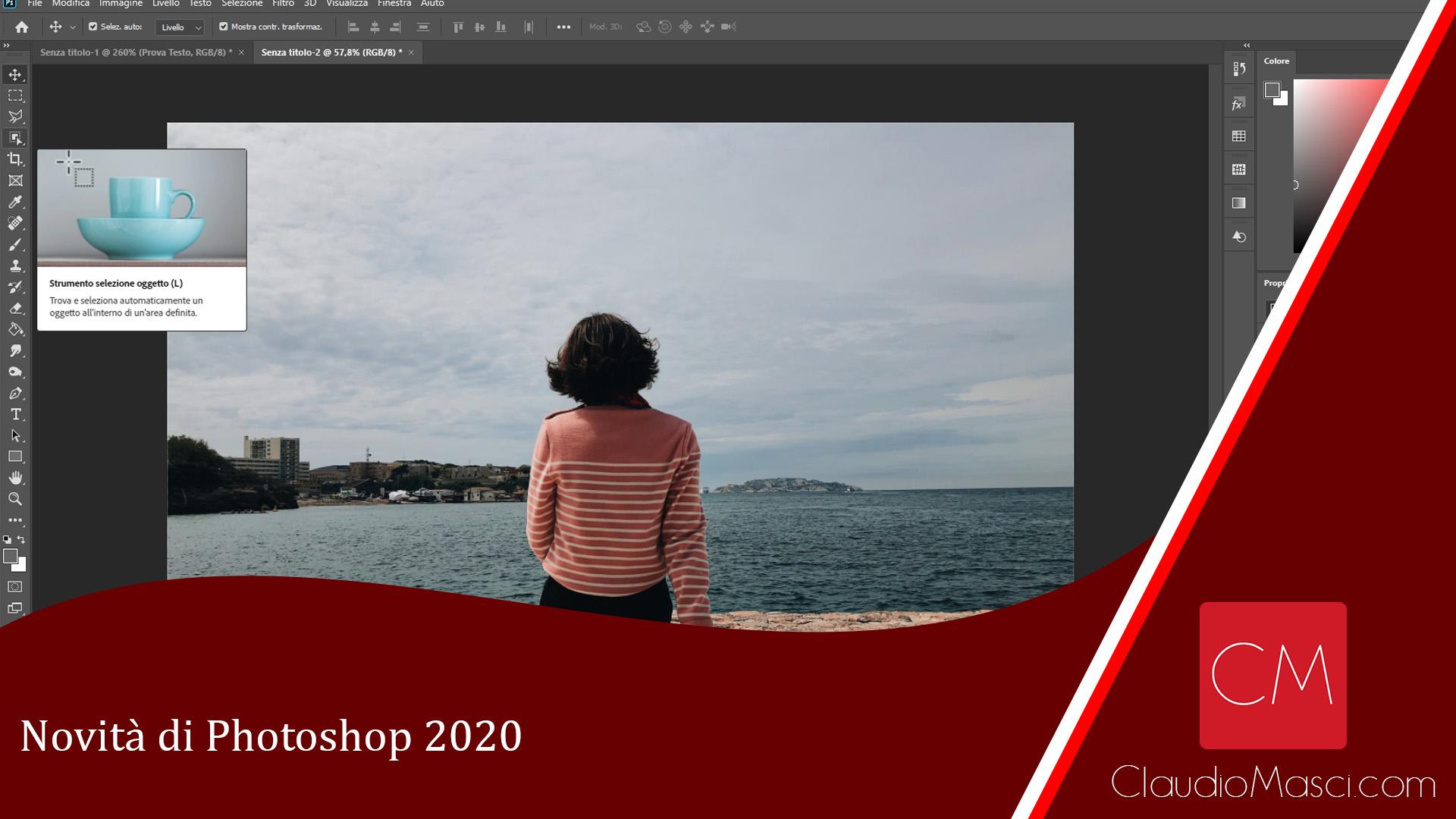 Novità di Photoshop 2020