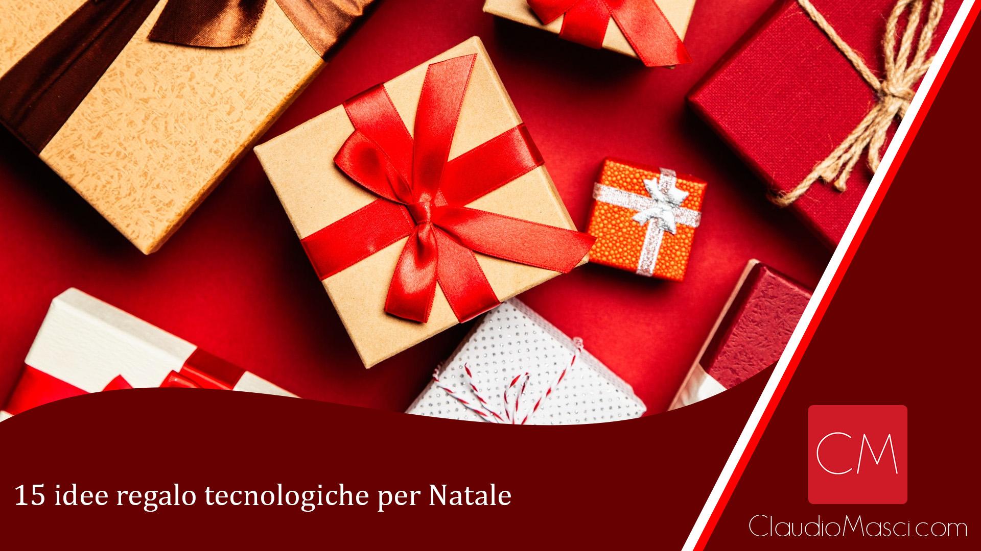 15 idee regalo tecnologiche per Natale