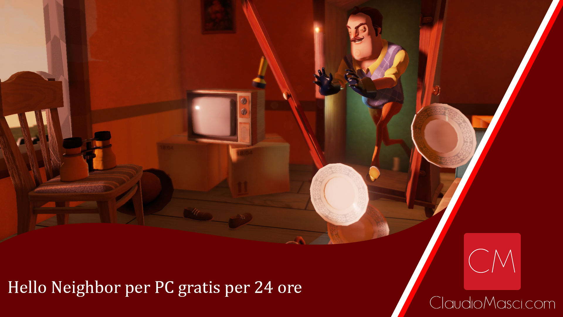 Hello Neighbor per PC gratis per 24 ore