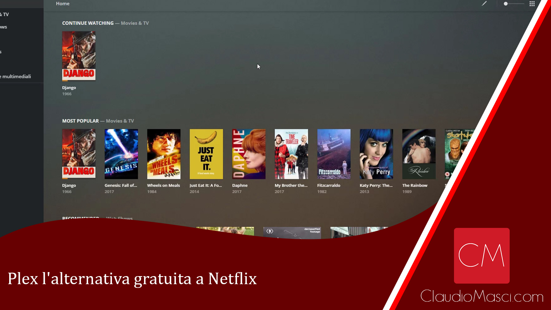 Plex l'alternativa gratuita a Netflix