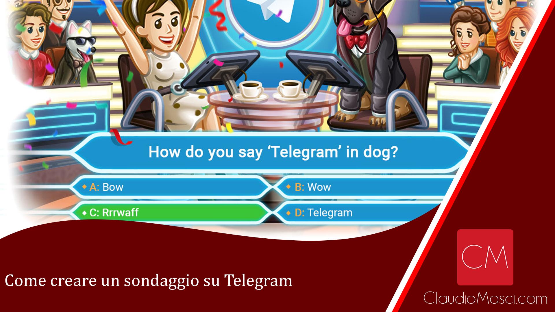 Come creare un sondaggio su Telegram