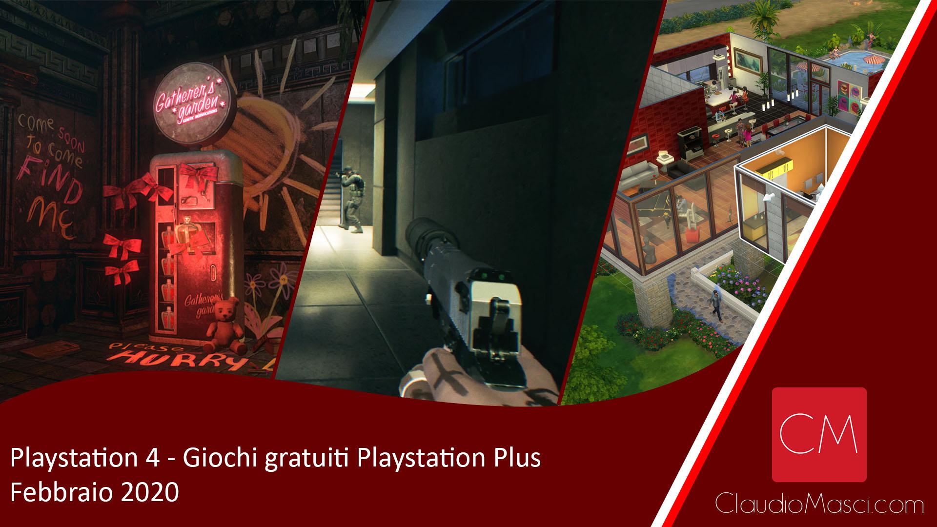 PS Plus – Giochi gratuiti Playstation Plus di Febbraio 2020