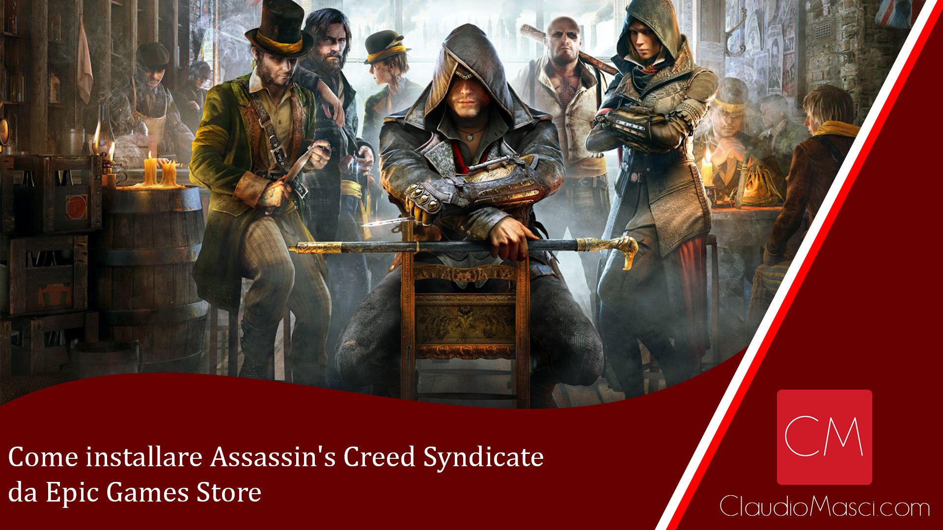 Come installare Assassin's Creed Syndicate da Epic Games Store