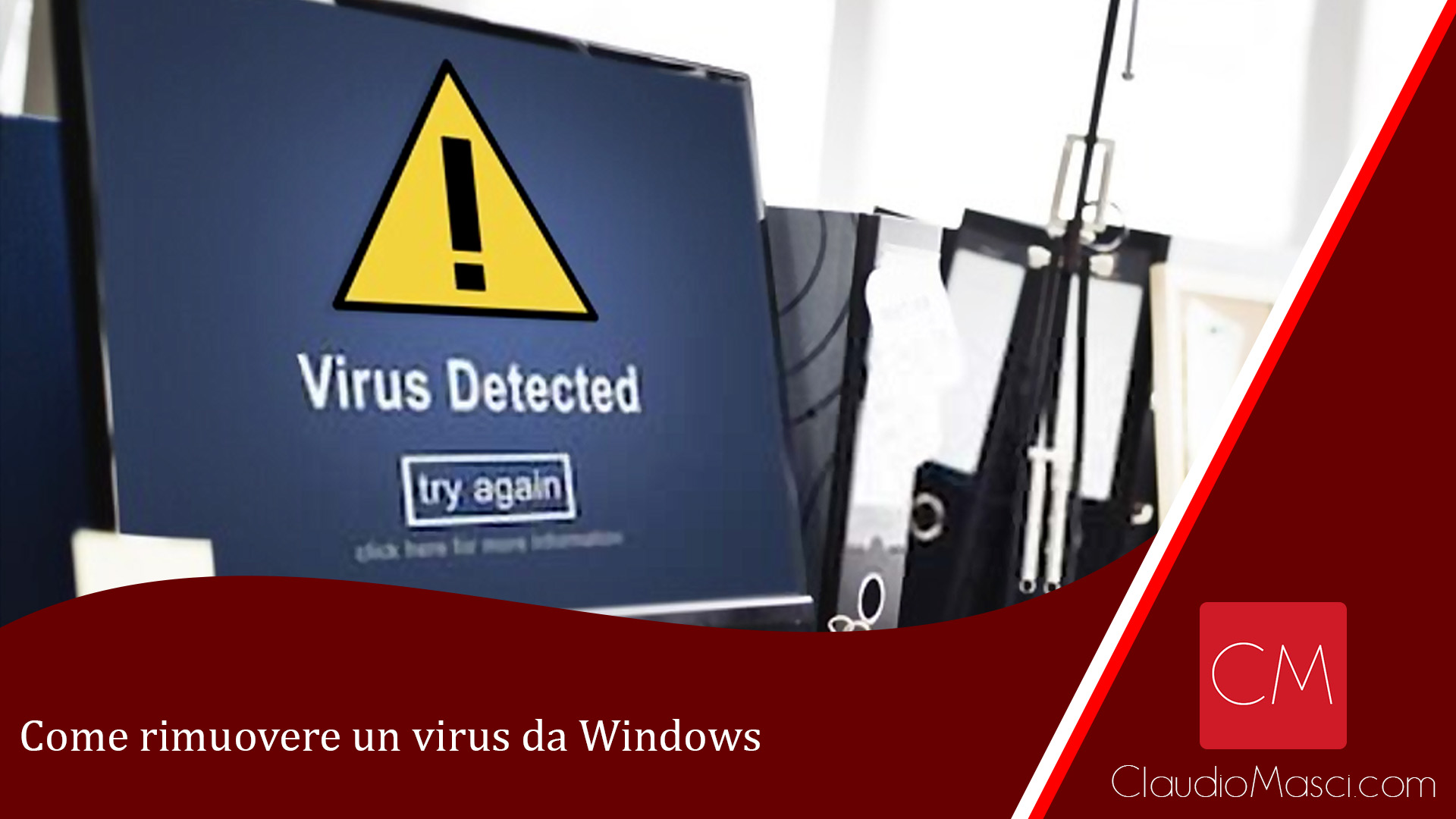 Come rimuovere un virus da Windows