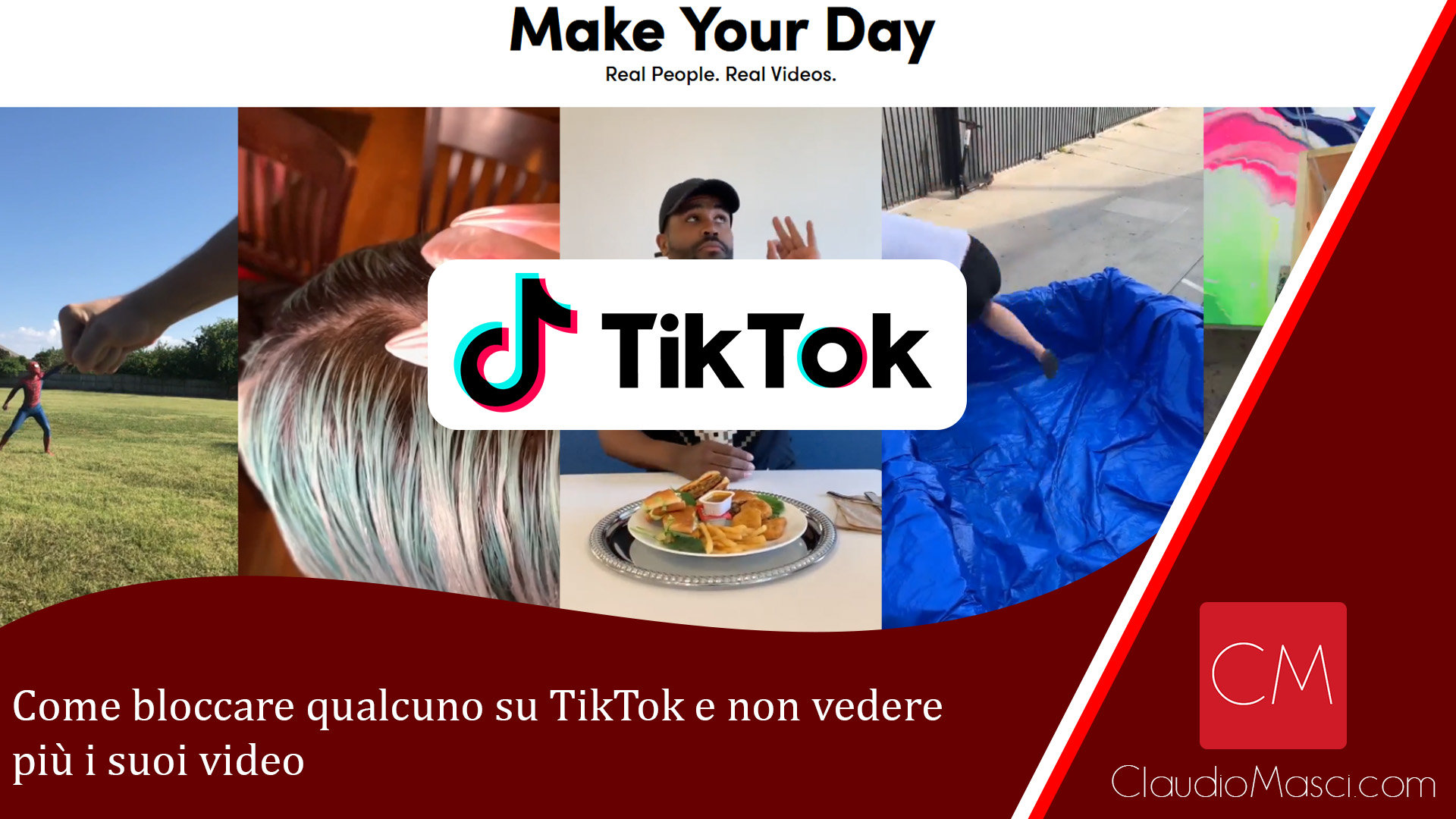 Come bloccare qualcuno su TikTok e non vedere più i suoi video