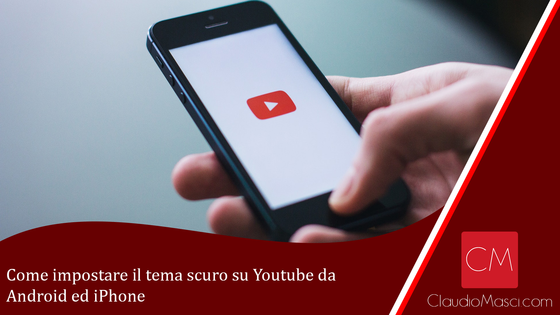 Come impostare il tema scuro su Youtube da Android ed iPhone